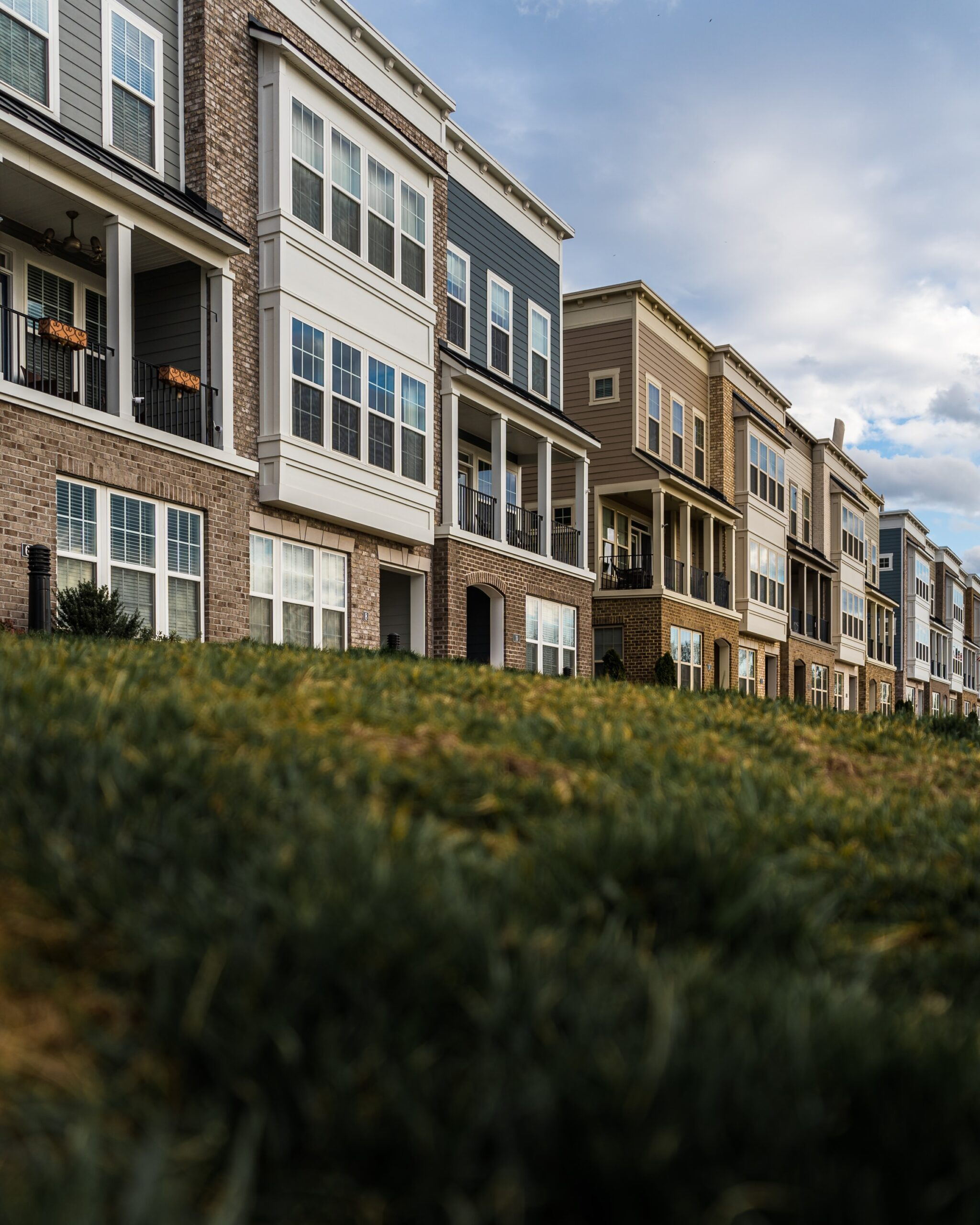 Photo of townhomes